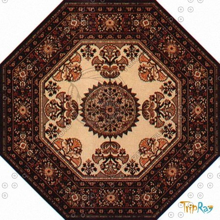 Octagonal carpet 086
