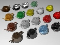 Glass Materials Collection 2 (50 materials)