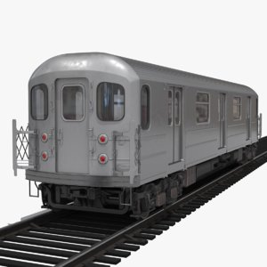 subway car 3d model