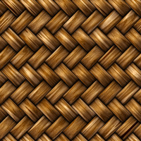 Seamless rattan weave texture