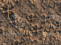 Red Desert Rocks Tiled Image