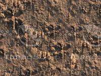 Red Desert Rocks Tiled Image