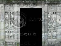 Stone Sculpture Door