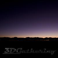 Evening Sky 001
