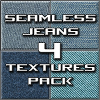 Seamless Jeans 4-Textures Pack