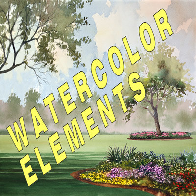 Watercolor Elements.zip