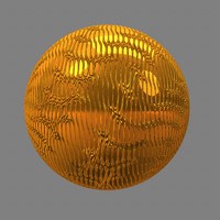gold wavelet maya material