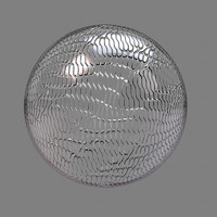 glass wavelet maya material