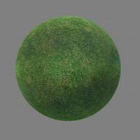 grass maya  material