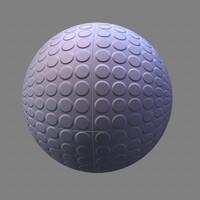 rubber stud maya material