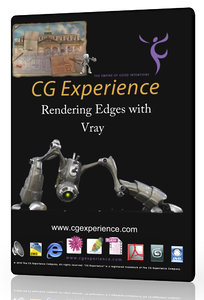 Rendering edges with vray