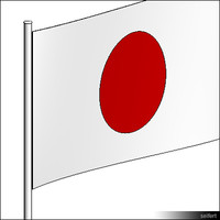 Flag-Japan-Pole-00304se