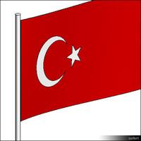 Flag-Turkey-Pole-00307se