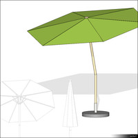 Beach Umbrella 00393se