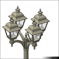 StreetLamp-floor-historic-00401se