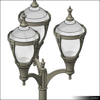 StreetLamp-floor-historic-00828se