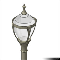 StreetLamp-floor-historic-00829se