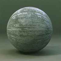 Maya Material Weathered Painted Wood