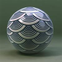 Maya Material Abstract Ceramic Gloss