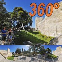 Saint George Castle - 360° panorama