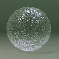 Maya Material Glass Textured 4