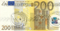 200 two hundred euro banknote high resolution texture