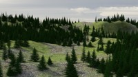 Evergreen Trees and Forest Tutorial