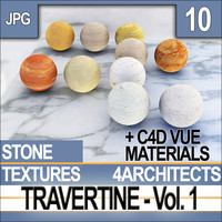 Travertine Vol. 1 - Textures & Materials