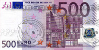 500 five hundred euro banknote high resolution texture