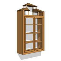 Architectonic Bookcase (closed)