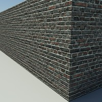 Brick_Old_1 - HD Old Brick - 3ds Max 2010 - Mental Ray material