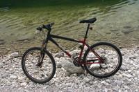 Gary Fisher bike on a lake (+CRW)