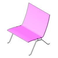 Chair - Poul Kjaerholm - pk22 Wicker