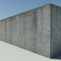 Concrete_1_Leaking - Old Leaking Concrete - 3DS MAX 2010 - Mental Ray Material