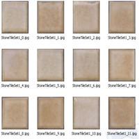 12 x Stone tiles