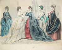 antique fashion print