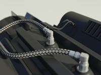 Woven metal gas tubing material - mental ray