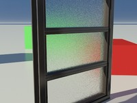 Glass Frosted 3_01 - Mental Ray material