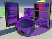 Glass Tinted See-Thru Purple 1_01 - Mental Ray material