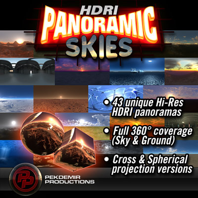 HDRI Panoramic Skies Collection