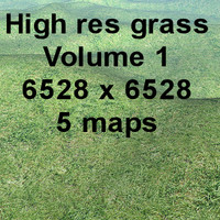 High res Grass Volume 1