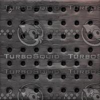 Gothic metallic cover : holes