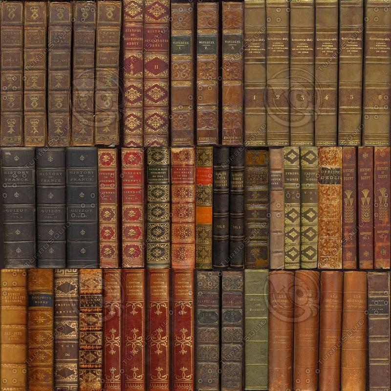 texture spines leather books spine antique turbosquid textures library bookcase книг книги hq animated источник gemt fra