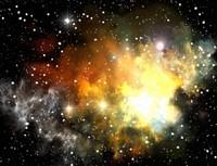 Space nebula AQ022