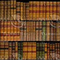 3D Bookshelf Texture Maps Animation Tree Files At