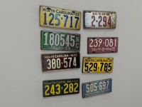 License Plates - Classic; North Carolina