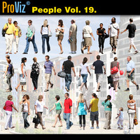 3dRender Pro-Viz People Vol. 19
