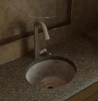 Lavatory Sink - Oval