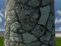 Stone_AR1 - High quality stone material - Mental Ray shader.