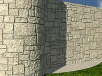 Stone_Procedural_Light_1 - HIGH QUALITY PROCEDURAL stone material - Mental Ray shader